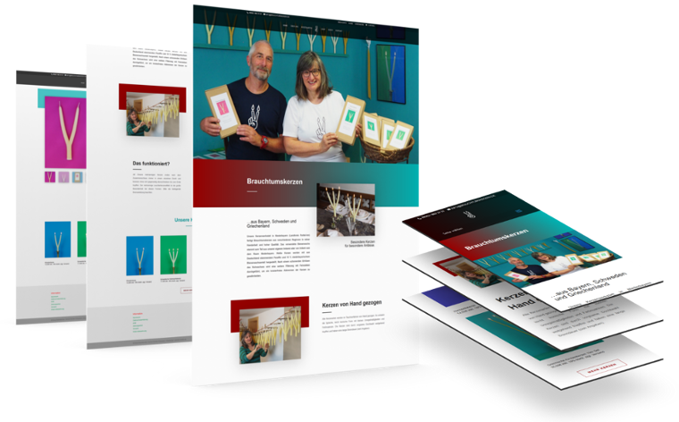 kreative website erstellung webdesign