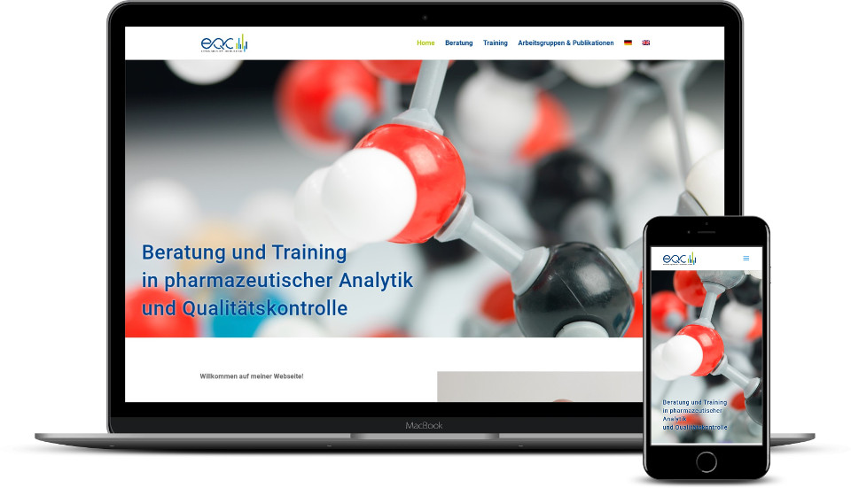 kreative website erstellung referenz Coaching Consulting webdesign