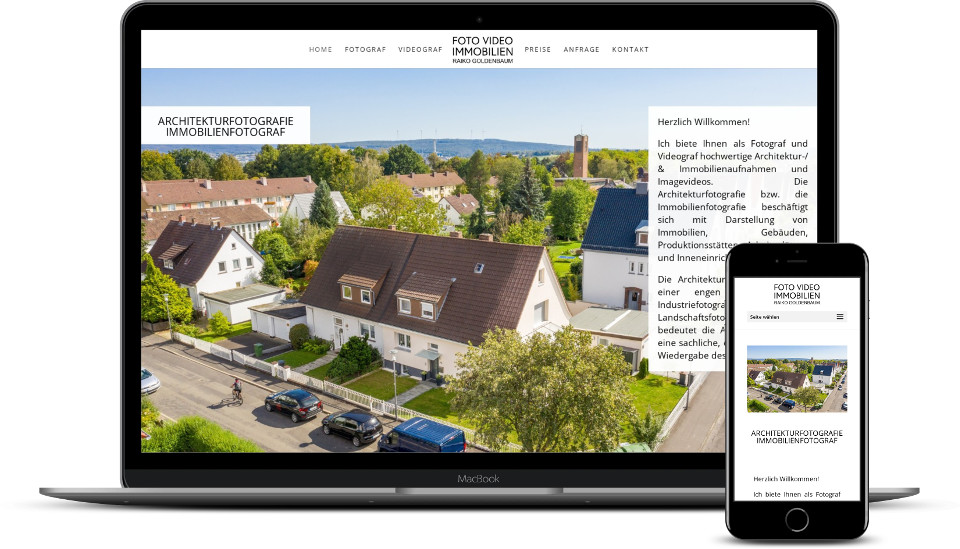 kreative website erstellung referenz fotograf webdesign