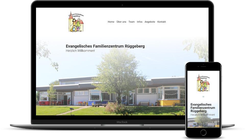 Website Erstellung Kita Kindergarten Webdesign